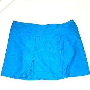 Gottex | Teal Textured Swim Skirt